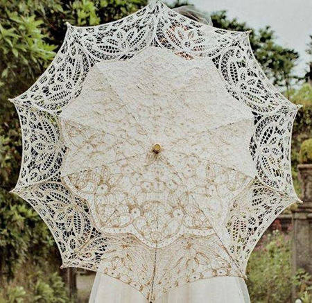 چتر سفید عروس,مدل چتر سفید عروس