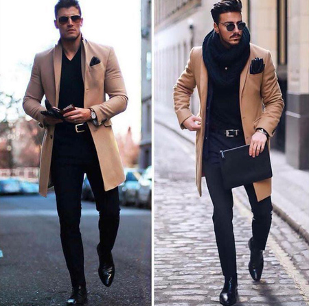 مدل لباس پاییزی و زمستانی مردانه
