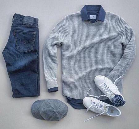 انواع لباس مردانه,ست های پاییزی مردانه