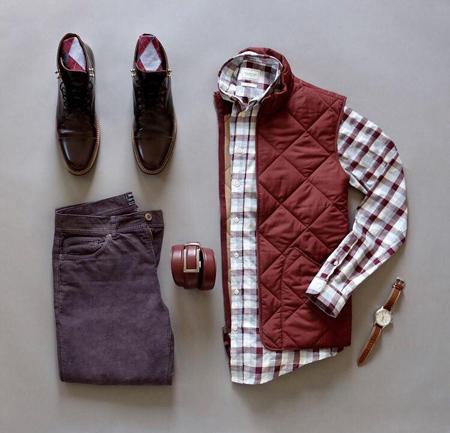تیپ پاییزی مردانه, ست لباس مردانه