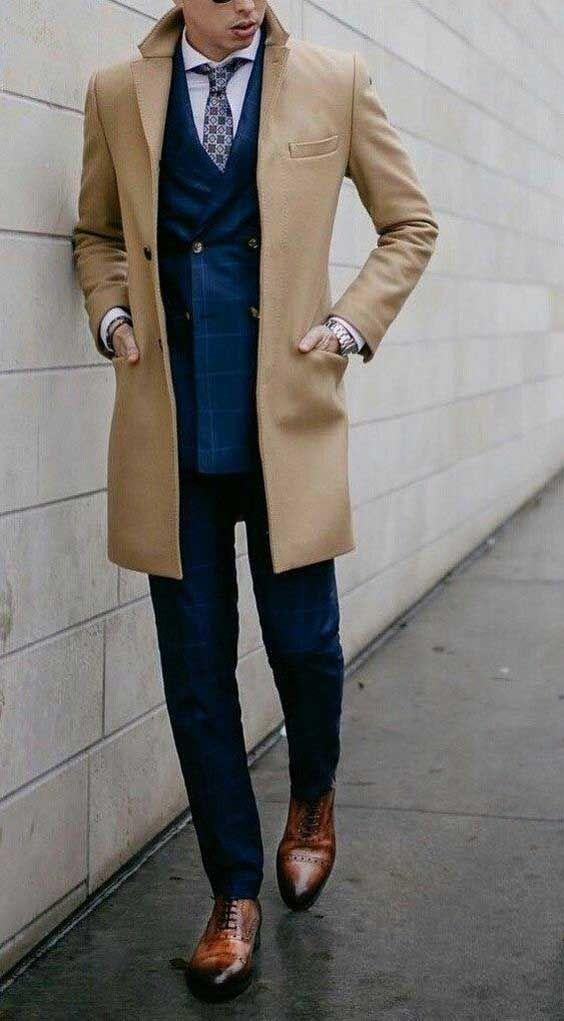 مدل لباس زمستانی مردانه پالتو 2