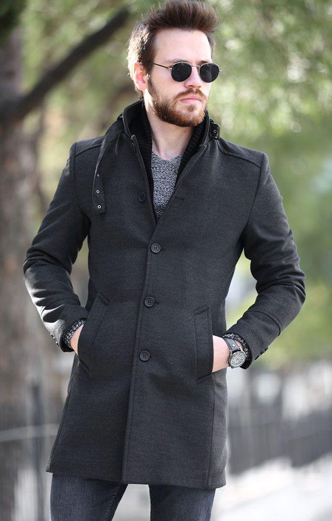 مدل لباس زمستانی مردانه پالتو 4