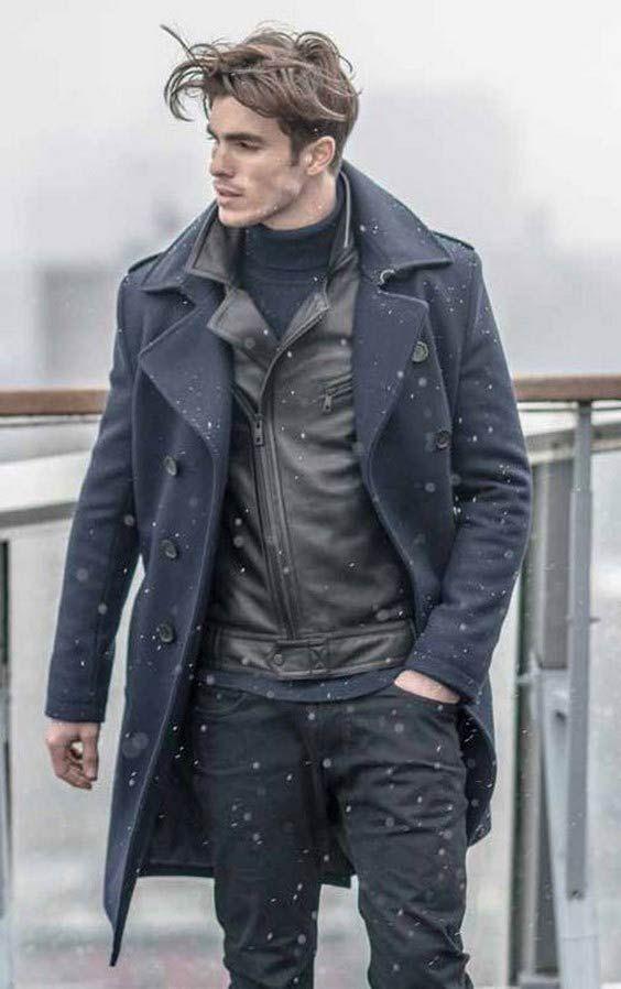 مدل لباس زمستانی مردانه پالتو 5