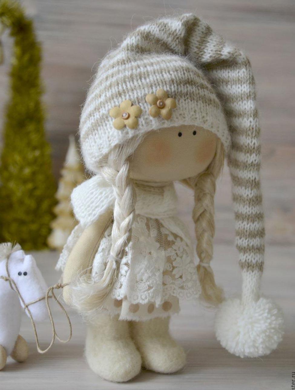 آموزش دوختن عروسک روسی