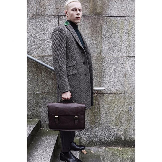 مدل پالتو مردانه با پارچه فوتر