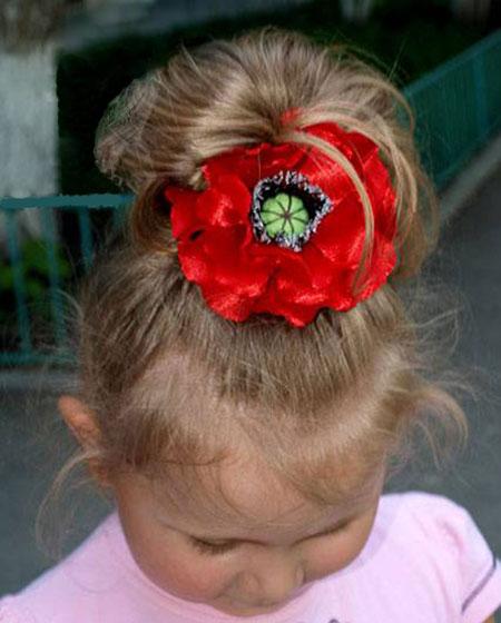 آموزش تصویری ساخت گل سر شقابق