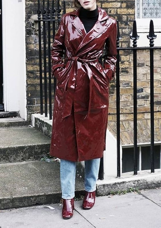 مدل مانتو بارانی شیک