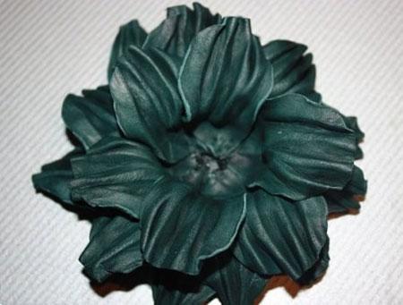 درست کردن گل چرمی, ساخت گل های چرمی