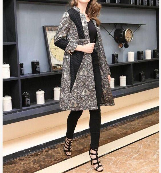 مدل مانتو زمستانی ایرانی