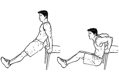 ورزش کوچک کردن بازو