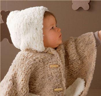 آموزش بافت پانچو برای کوچولوها