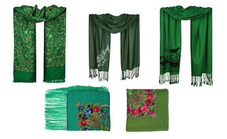 انتخاب شال و روسری برای هر پوست