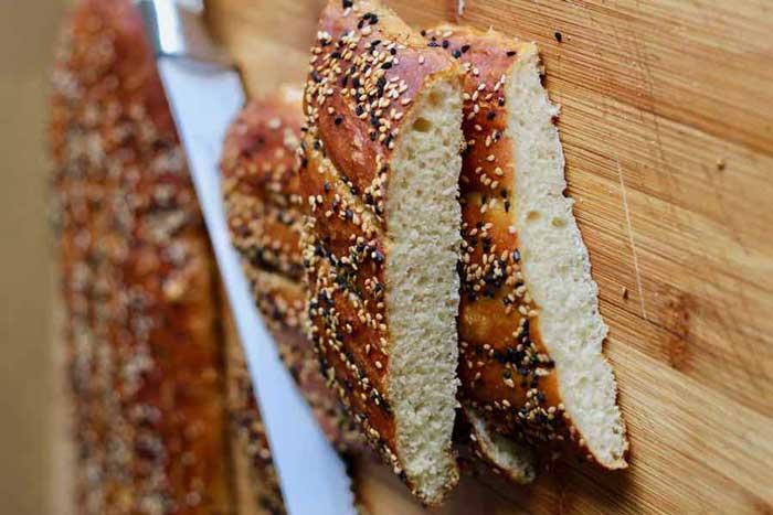 طرز تهیه نان بربری در خانه