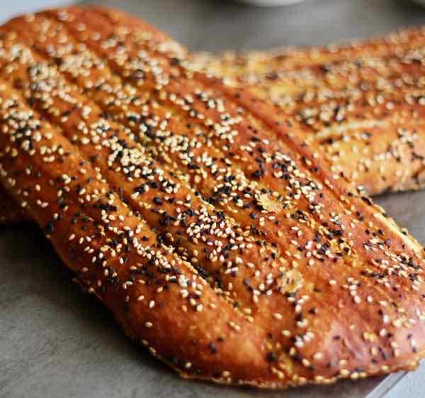 طرز تهیه ی نان بربری در خانه