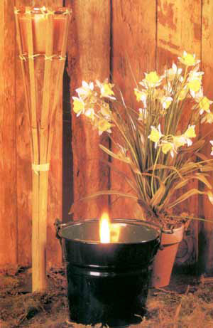 آموزش درست کردن شمعی برای دفع حشرات