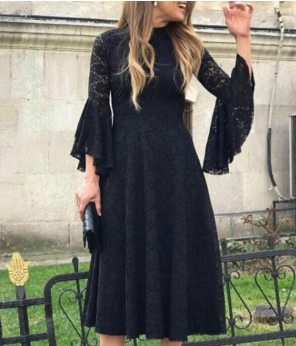 مدل لباس مجلسی گیپور 2018