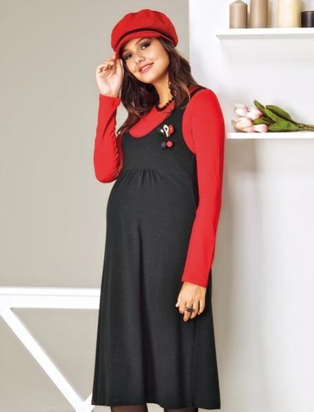 مدل لباس مجلسی حاملگی پوشیده
