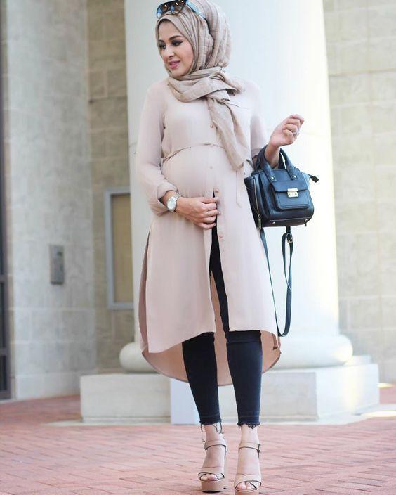 مدل لباس مجلسی بارداری اسپرت