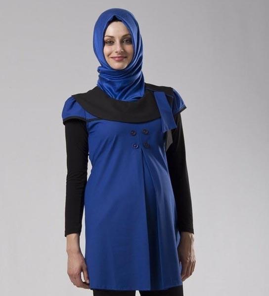 مدل لباس مجلسی حاملگی کوتاه