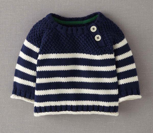 انواع مدلهای لباس بافتنی نوزاد پسر - بلوز بافتنی پسرانه