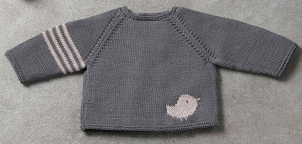 انواع مدلهای لباس بافتنی نوزاد پسر - بلوز بافتنی