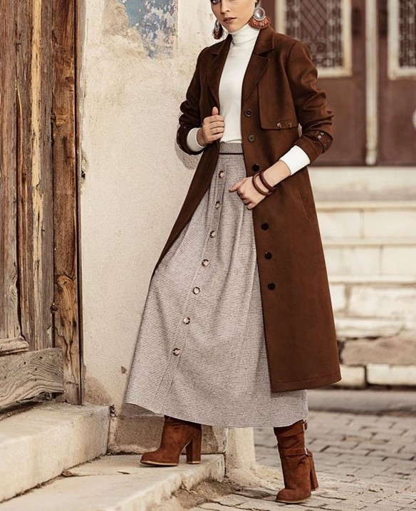 مدل مانتو پالتو زمستانی زنانه