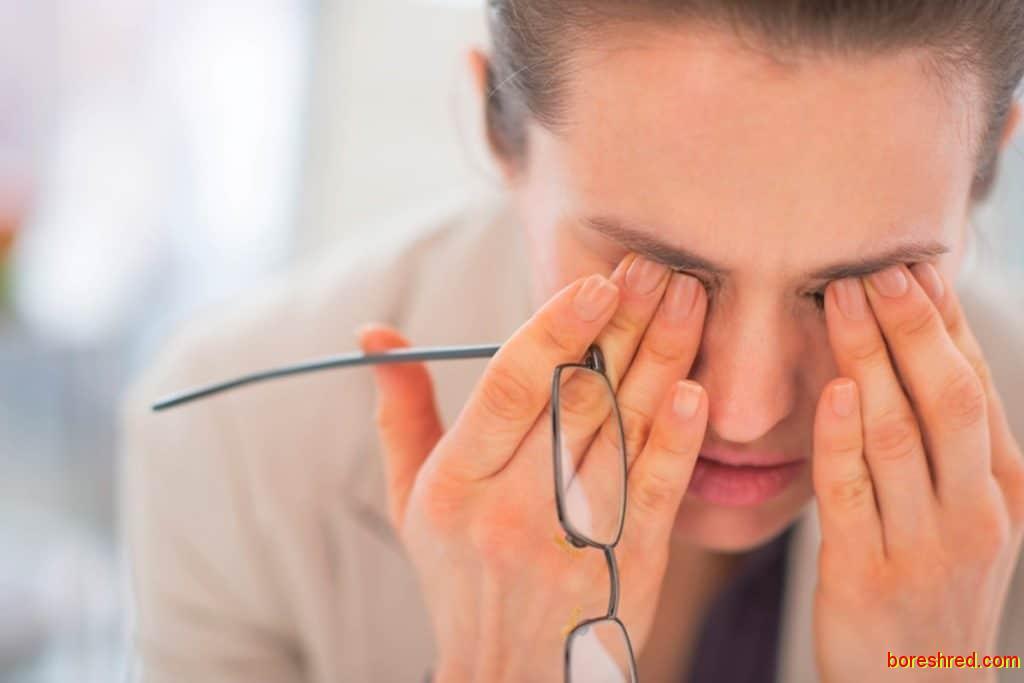 مشکلات چشمی,کبد خراب,مشکلات عمده کبد خراب,بدترین معایب کبد خراب