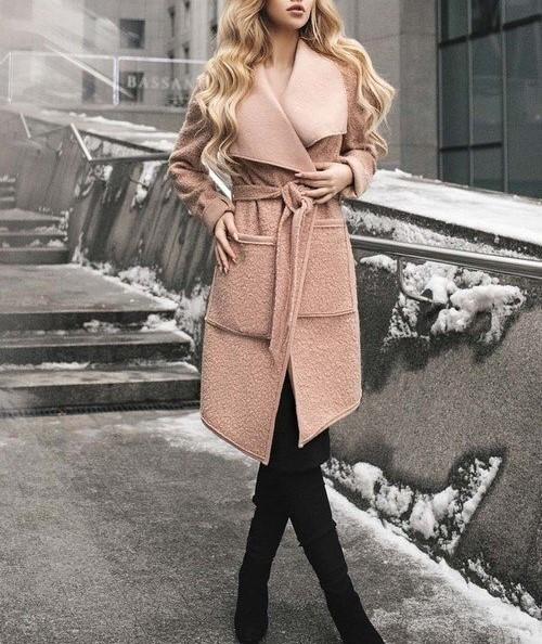 مدل مانتو پالتو زمستانه دخترانه 2019