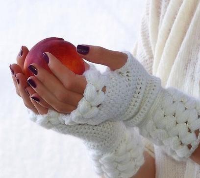 تصاویر مدل دستکش بافتنی