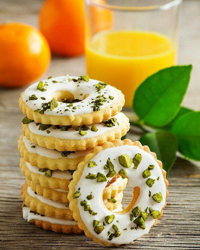طرز تهیه شیرینی لیمویی یا پرتقالی