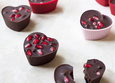 درست کردن دسر شکلات انار,مواد لازم برای دسر شکلات انار