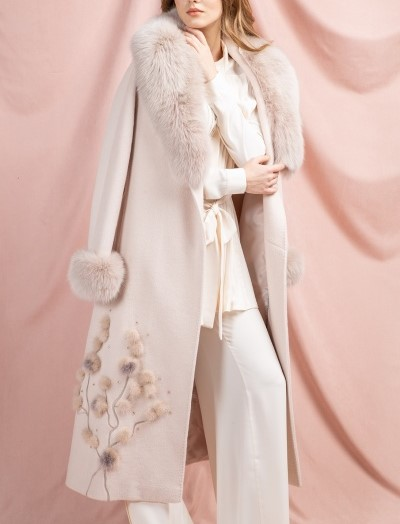 مدل پالتو بلند زنانه 2019