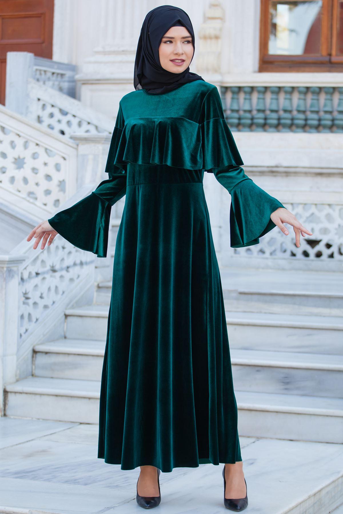 مدل لباس مجلسی مخمل اینستا