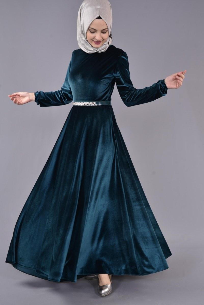 مدل لباس مجلسی مخمل اینستاگرام