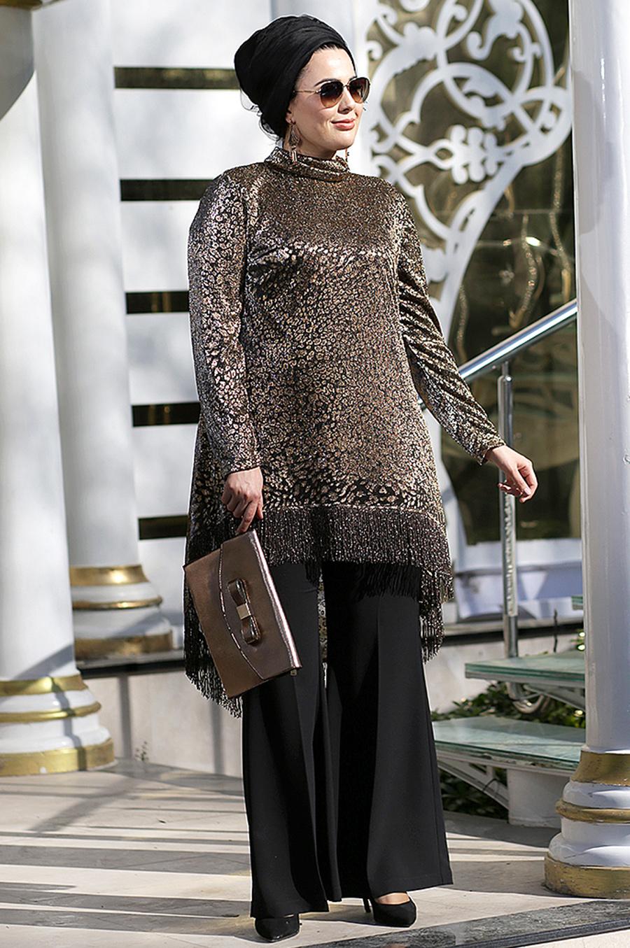 مدل لباس تونیک سایز بزرگ
