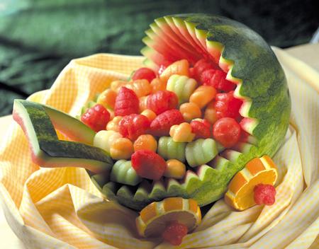 زیباترین میوه آرایی مخصوص شب یلدا