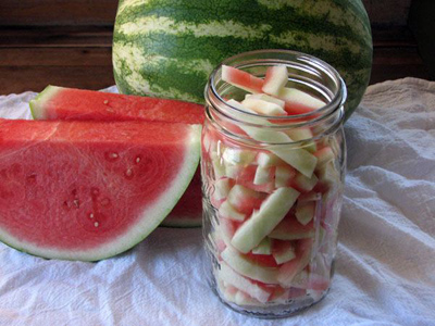 درست کردن ترشی هندوانه,نحوه درست کردن ترشی هندوانه