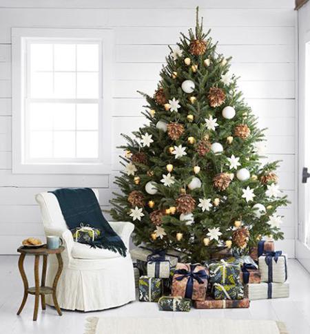چیدمان خانه در کریسمس, چیدمان درخت کریسمس