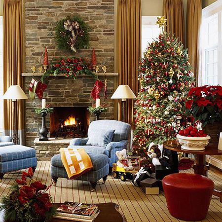چیدمان درخت کریسمس, چیدمان های زیبای درخت کریسمس