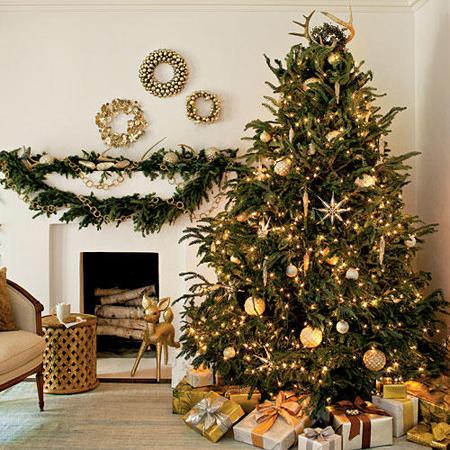 مدل درخت کریسمس, تزیینات زیبای درخت کریسمس
