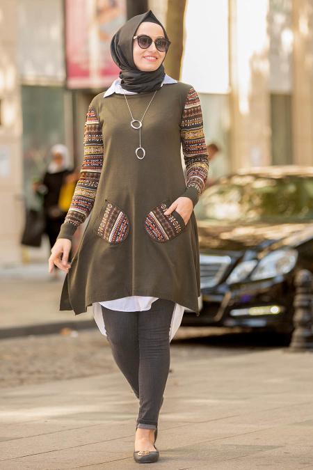 جدیدترین مدل مانتو بافتنی زنانه