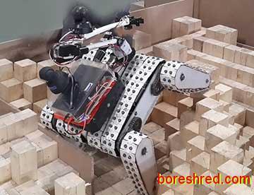 گپی با «مهدی دادور» پژوهشگر روباتهای امدادگر هوشمند