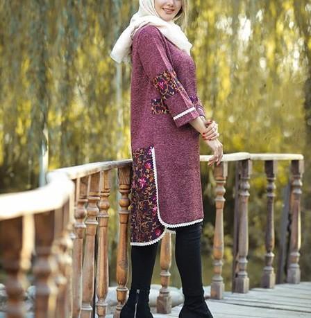 مدل مانتو عید امسال دخترانه