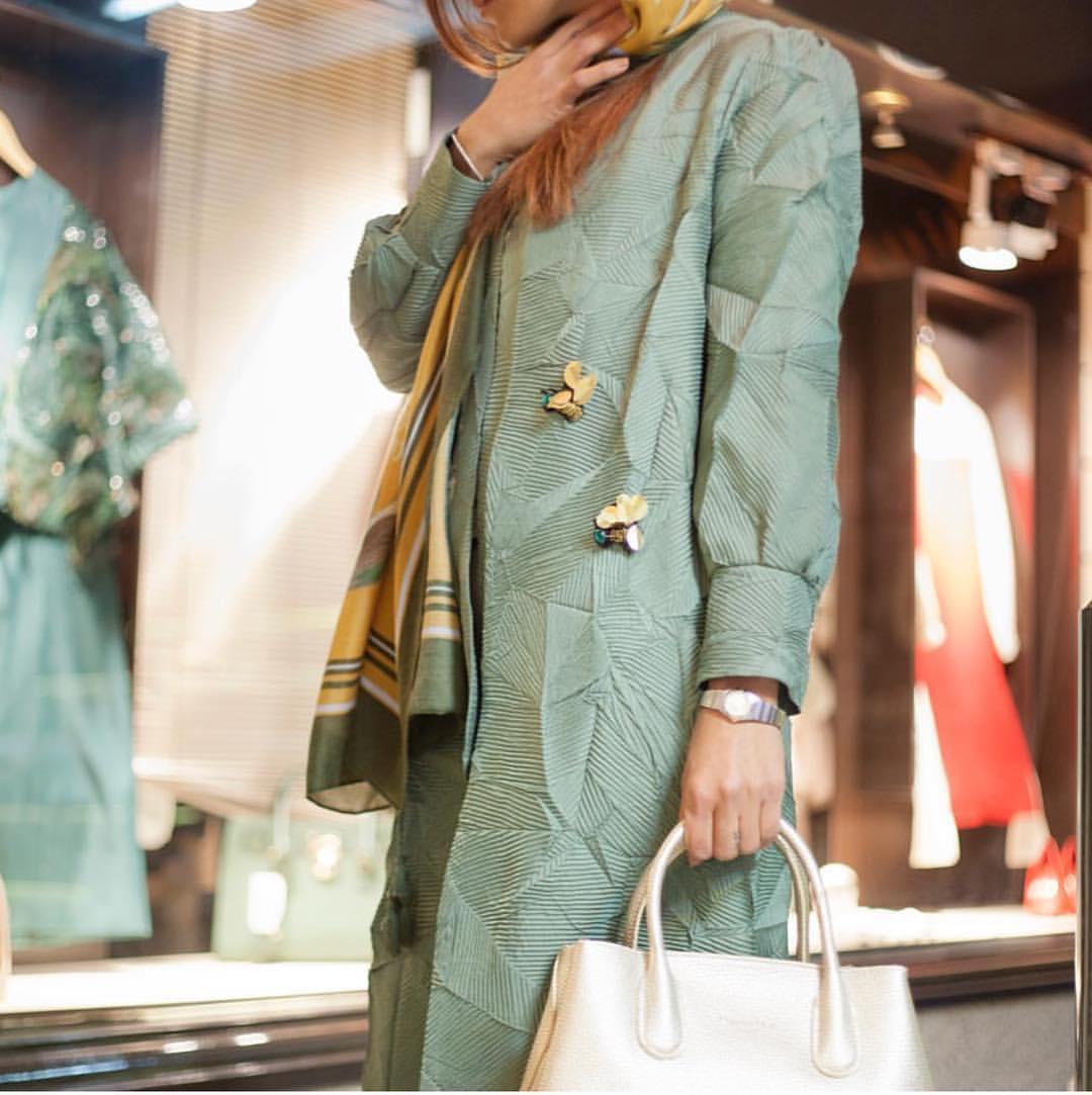 مدل مانتو عید 98 در اینستاگرام