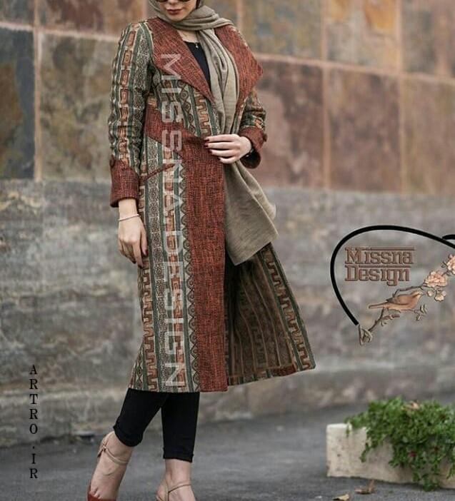 عکس مدل مانتو جدید برای عید