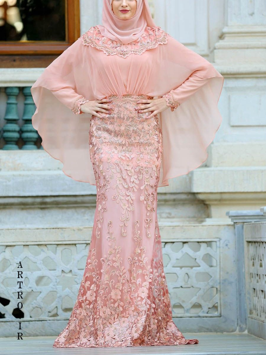 آخرین مدل لباس عروس پوشیده