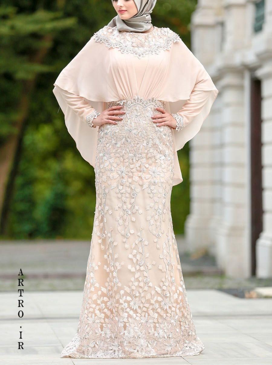 مدل لباس عروس پوشيده جديد