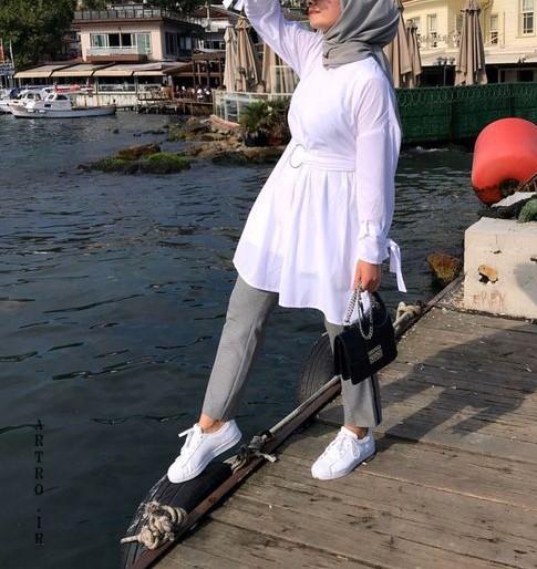مدل مانتو سفید مجلسی عروس