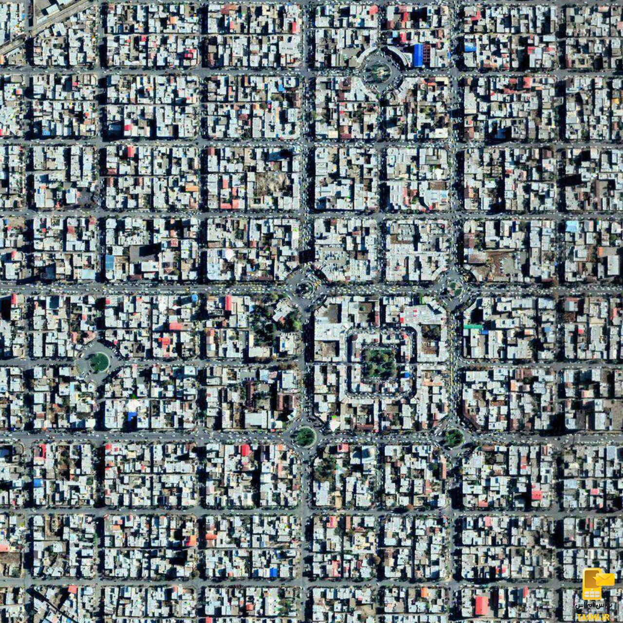 سلماس، نخستین شهر شطرنجی ایران