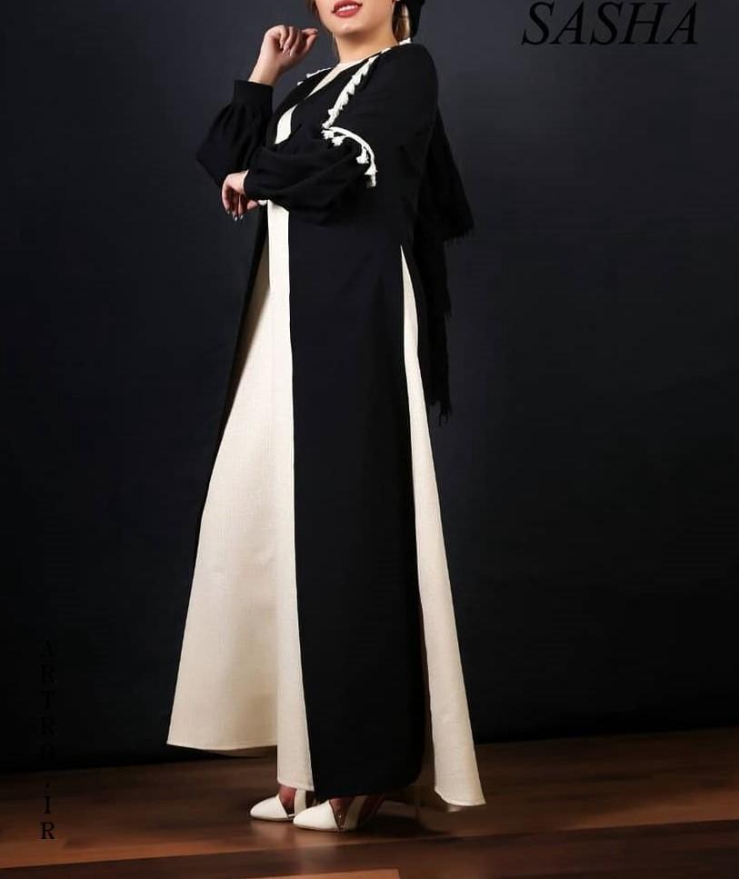 مدل مانتو بلند برای عید